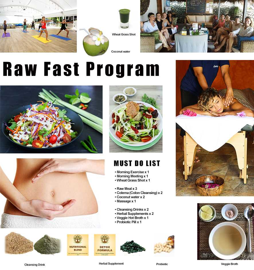 Raw Fast Program