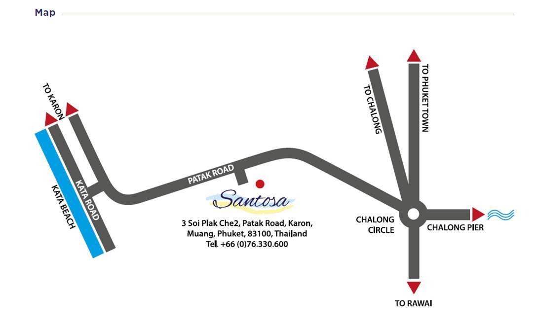 Santosa Map
