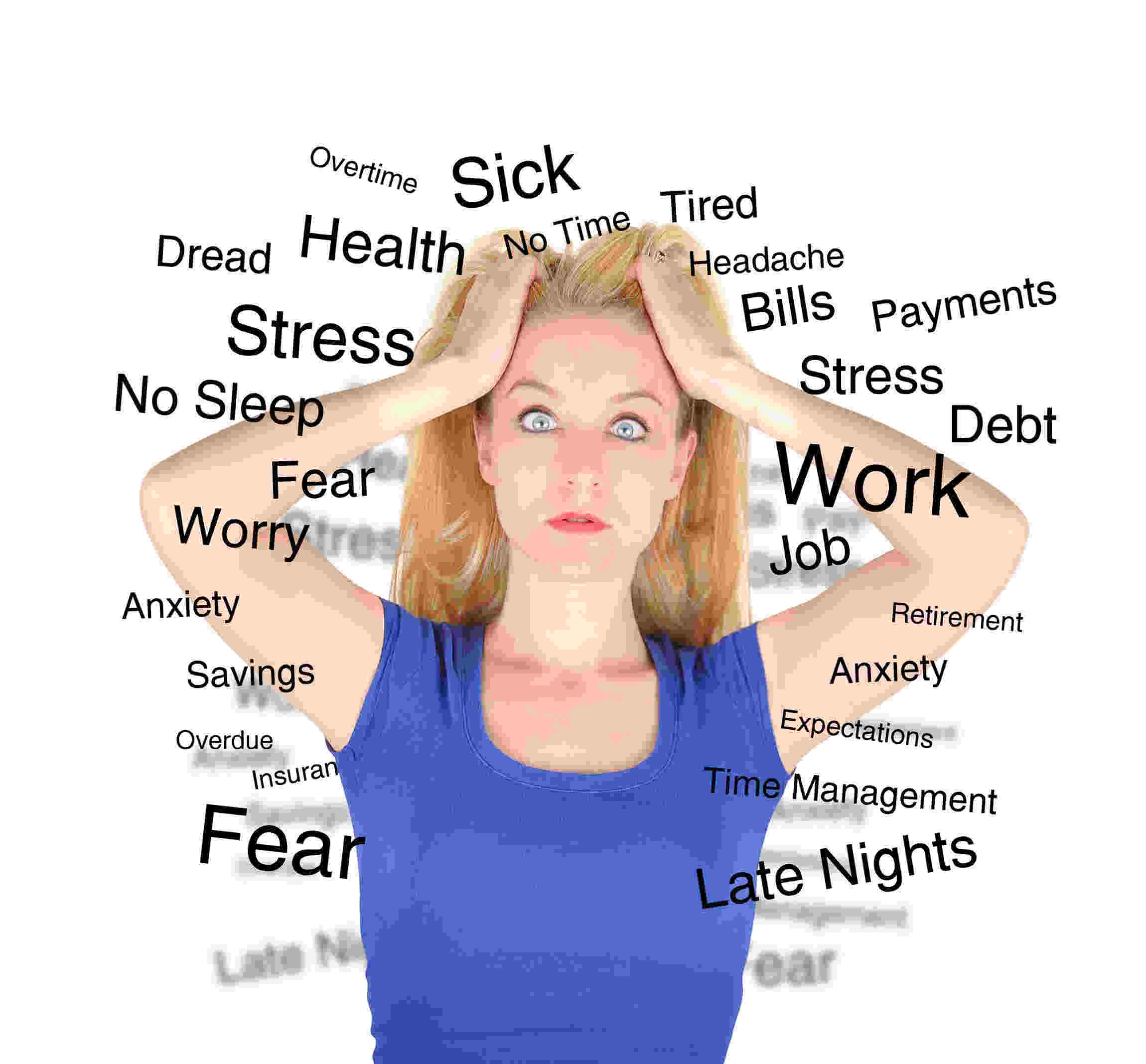 the factors affecting the build up of stress