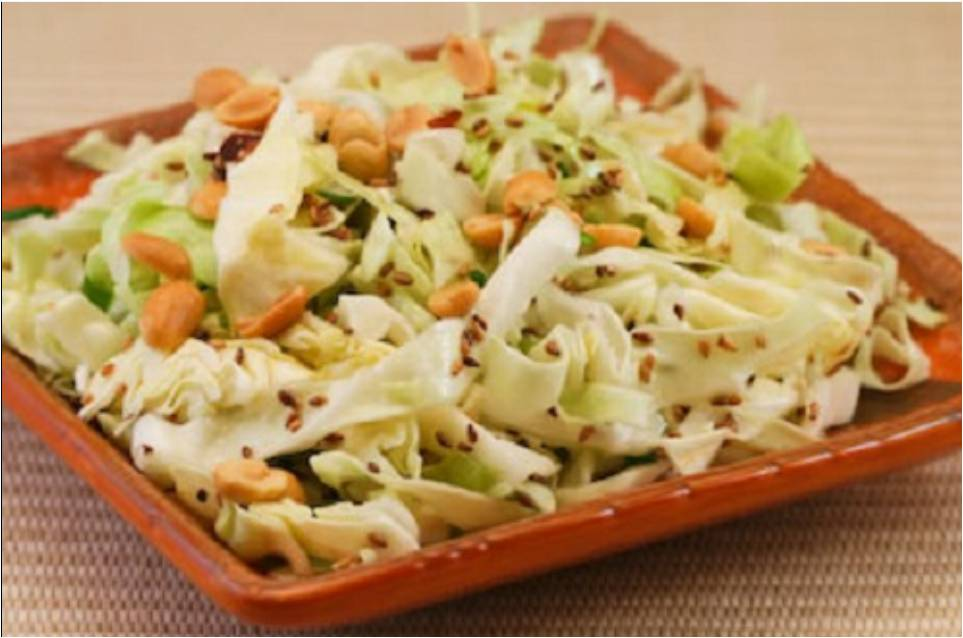 Asian Style Cabbage Salad Recipe