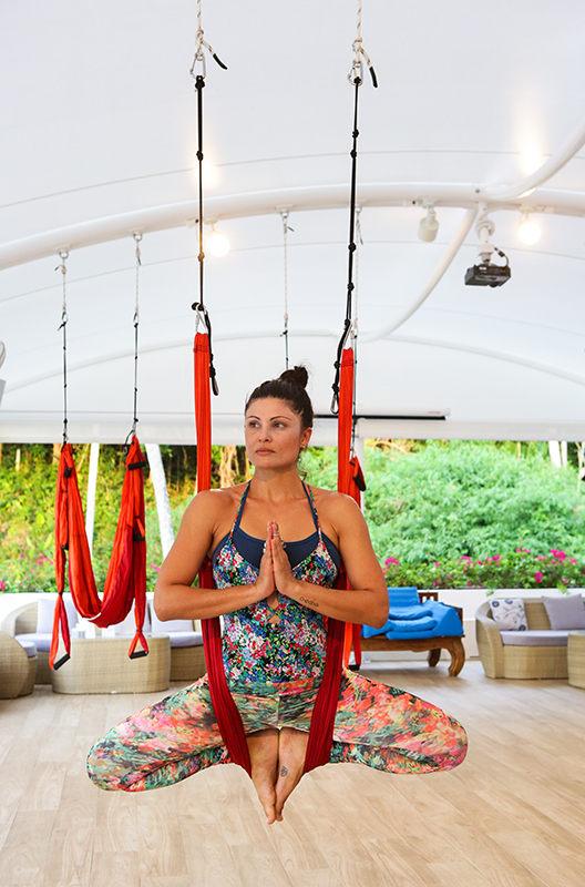 Aerial Yoga at Santosa Phuket