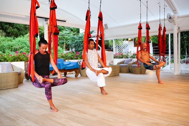 The Benefits of Aerial Yoga