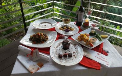 Vegan 5-Course Christmas Menu at Santosa Phuket