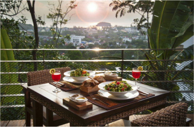 New Year Party with Buffet with a view over Phuket