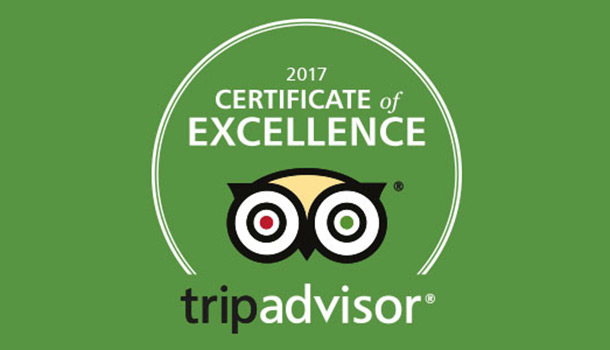 Santosa Receives TripAdvisor 2017 Certificate of Excellence