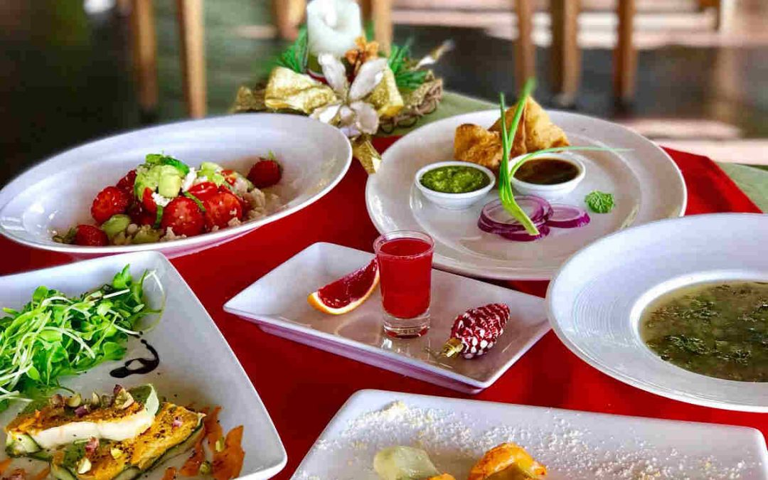 Celebrate a Vegan Christmas at Santosa