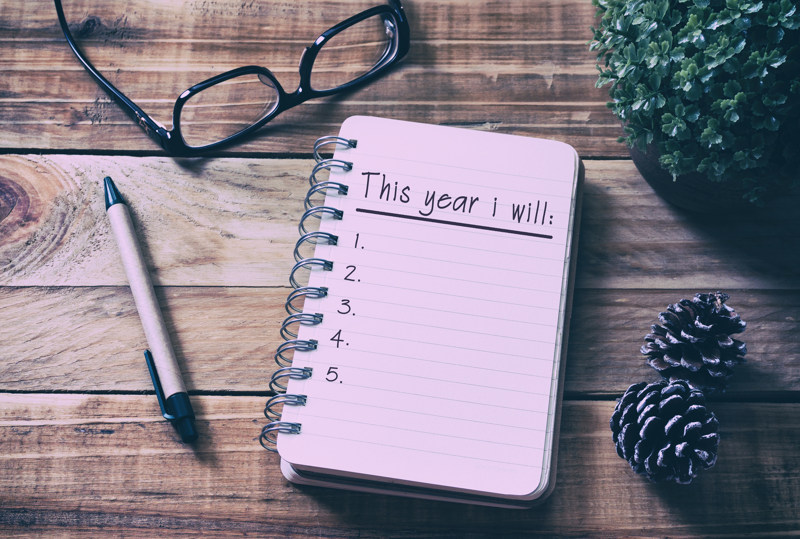 New Year, New You – Sticking to your New Year's Resolutions in 2018