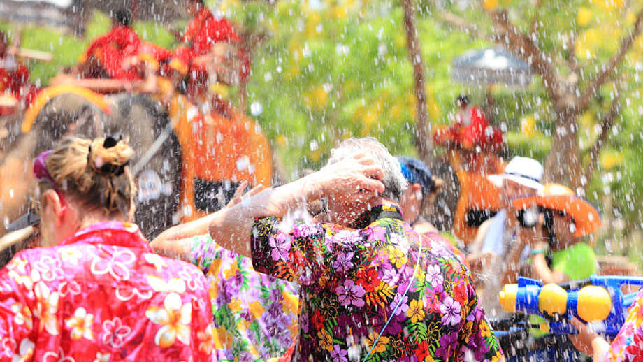 Celebrate Songkran at Santosa