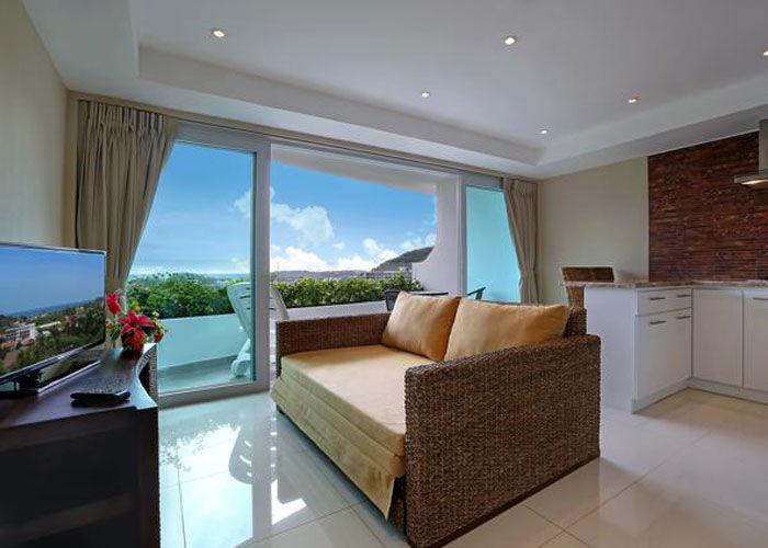 Santosa Resort Detox Wellness Spa Yoga Retreat Kata Beach Phuket Thailand RESORT Accommodation 2 BEDROOM SUITE SEA VIEW View2 700x500