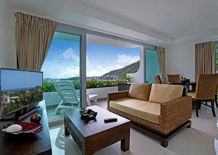 Santosa Resort Detox Wellness Spa Yoga Retreat Kata Beach Phuket Thailand RESORT Accommodation 2 BEDROOM SUITE SEA VIEW View 700x500
