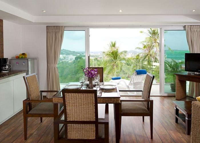 Santosa Resort Detox Wellness Spa Yoga Retreat Kata Beach Phuket Thailand RESORT Accommodation BEDROOM SUITE SEA VIEW View2 700x500