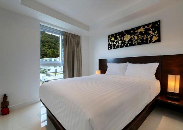 Santosa Resort Detox Wellness Spa Yoga Retreat Kata Beach Phuket Thailand RESORT Accommodation Bedroom. APARTMENT BUDDHA VIEW 700x500