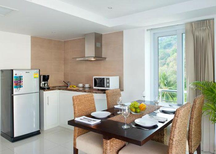 Santosa Resort Detox Wellness Spa Yoga Retreat Kata Beach Phuket Thailand RESORT Accommodation Kitchen2 APARTMENT BUDDHA VIEW 700x500
