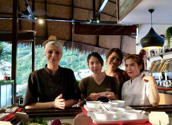 Santosa Resort Detox Wellness Spa Yoga Retreat Kata Beach Phuket Thailand HEALTHY VEGAN Healthy Vegan Retreat Chef 550x400