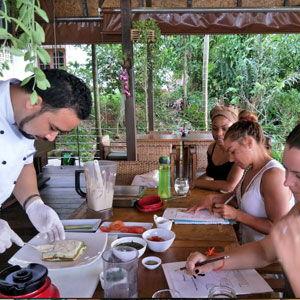 Santosa Resort Detox Wellness Spa Yoga Retreat Kata Beach Phuket Thailand HEALTHY VEGAN Healthy Vegan Retreat Cooking Class 300x300
