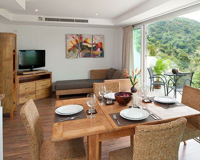 Apartment Dining Area Santosa Resort Phuket