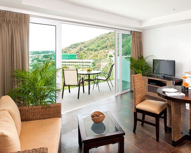 Apartment Interior Mountain View Santosa Resort Phuket