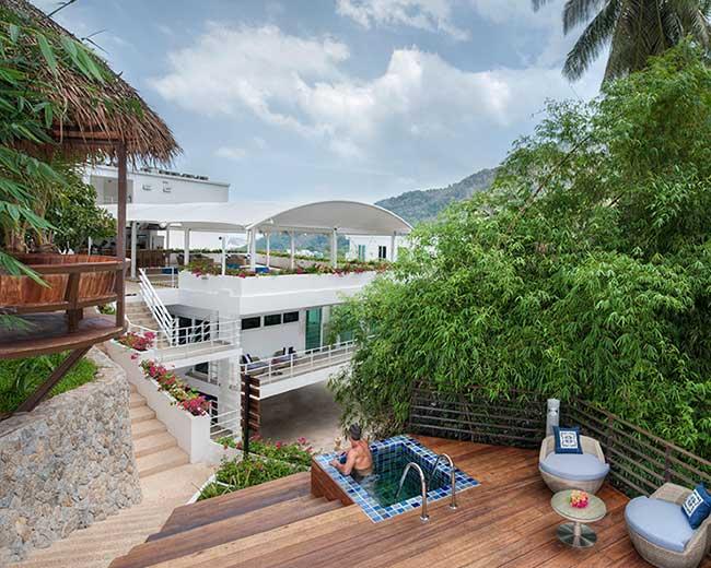 Exterior Jacuzzi Wellness Santosa Resort Phuket