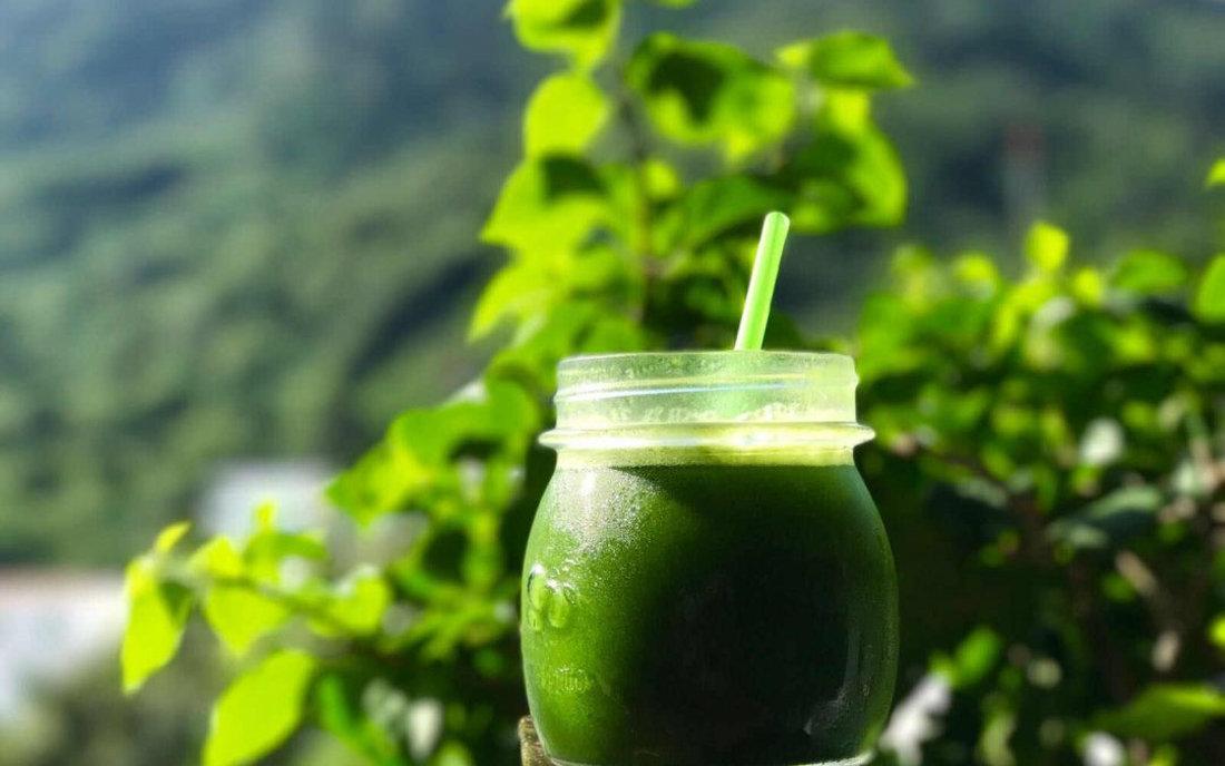 Santosa Detox Wellness Spa Phuket Raw Green Juice In Glass