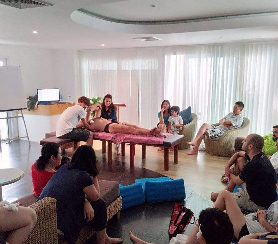 Santosa Detox Wellness Center Class Participants Discovering The Bertele Method