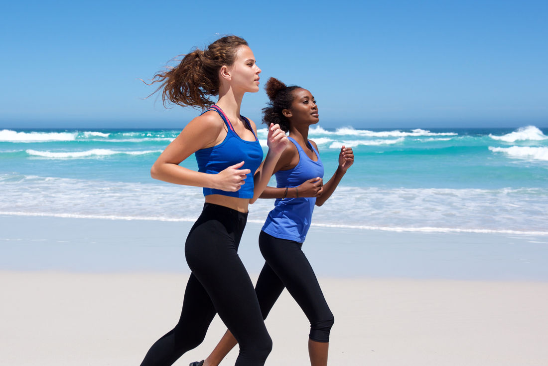 Santosa Detox Wellness Center Phuket Women Doing Running Excercise